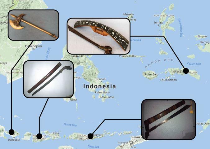 Senjata Bali Maluku NT