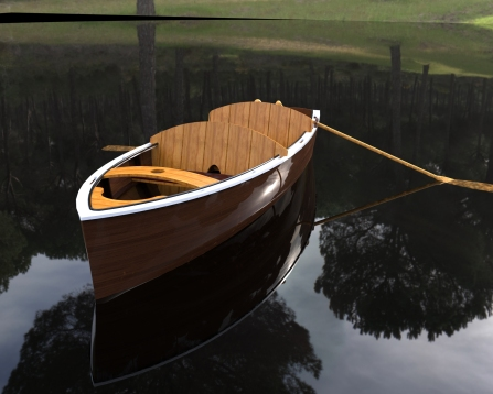 Wooden Boat.399