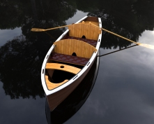 Wooden Boat.400